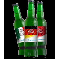 6 Flaschen Fan Bier 2021